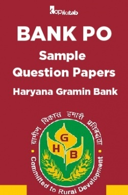 BANK PO Sample Question Papers For Haryana Gramin Bank