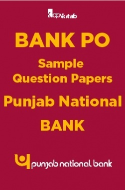 BANK PO Sample Question Papers For Punjab National Bank