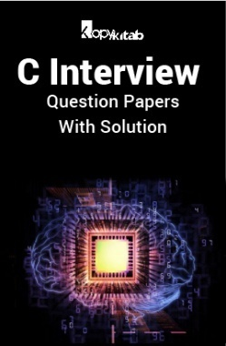C Interview Question Papers With Solution