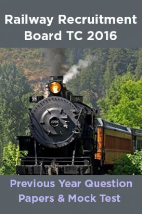 Railway Recruitment Board TC 2016 Previous Year Question Papers And Mock Test