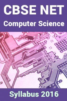CBSE NET Computer-Science Syllabus 2016