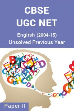 CBSE UGC NET Unsolved Previous Year Question Papers English  Paper-II (2004-15)