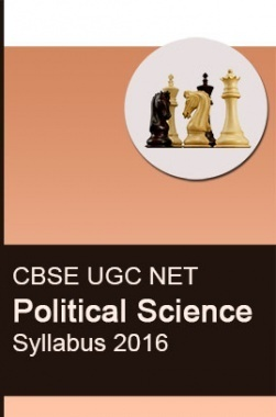 CBSE UGC NET Political Science Syllabus 2016