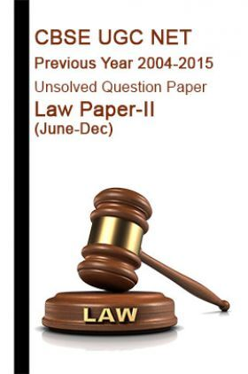 CBSE UGC NET Previous Year 2004-2015 Unsolved Question Paper Law Paper-II(June-Dec)