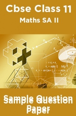 download cbse class 11 maths sa ii sample question paper by panel of experts pdf online. Black Bedroom Furniture Sets. Home Design Ideas