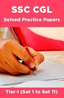 SSC CGL Solved Practice Papers Tier-I (Set 1 to Set 11)