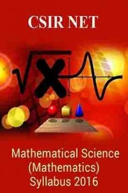 CSIR NET Mathematical Science (Mathematics) Syllabus 2016