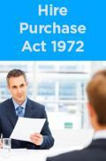 Hire-Purchase Act 1972
