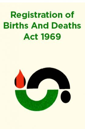 Registration of Births And Deaths Act 1969