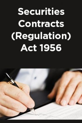 Securities Contracts (Regulation) Act 1956