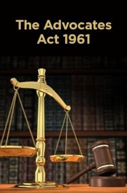The Advocates Act 1961