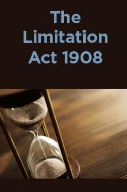 The Limitation Act 1908