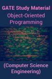 GATE Study Material Object-Oriented Programming (Computer Science Engineering)