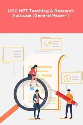 UGC NET Teaching & Research Aptitude (General Paper-I)
