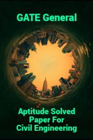 GATE General Aptitude Solved Paper For Civil Engineering