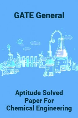 GATE General Aptitude Solved Paper For Chemical Engineering