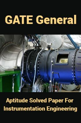 GATE General Aptitude Solved Paper For Instrumentation Engineering