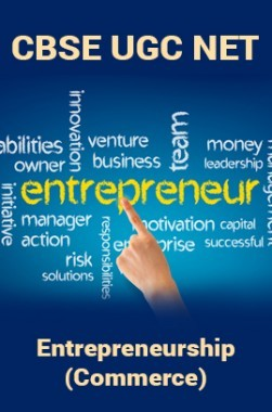 CBSE UGC NET : Entrepreneurship (Commerce)