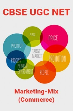 CBSE UGC NET : Marketing-Mix (Commerce)