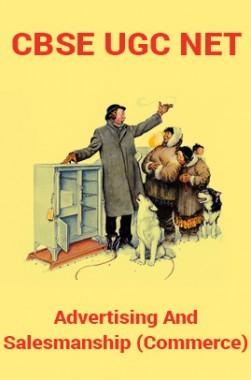 CBSE UGC NET : Advertising And Salesmanship (Commerce)