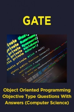 Download GATE Object Oriented Programming Objective Type Questions With  Answers (Computer Science) by Panel Of Experts PDF Online