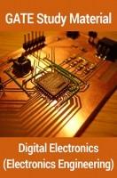 GATE Study Material Digital Electronics (Electronics Engineering)