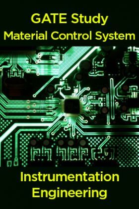 GATE Study Material Control System (Instrumentation Engineering)