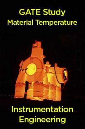 GATE Study Material Temperature (Instrumentation Engineering)