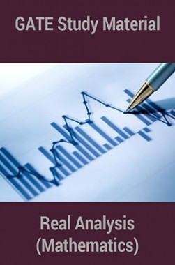 Download GATE Study Material Real Analysis (Mathematics) by Panel Of  Experts PDF Online