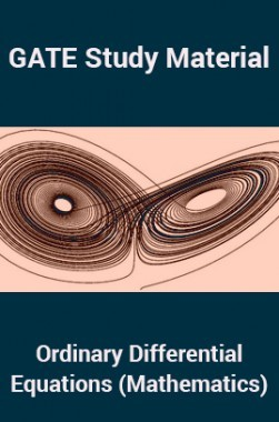 GATE Study Material Ordinary Differential Equations (Mathematics)