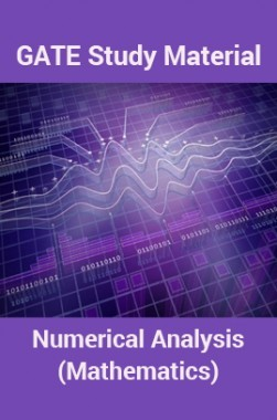 GATE Study Material Numerical Analysis (Mathematics)