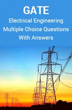 GATE Electrical Engineering Multiple Choice Questions With Answers
