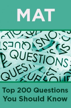 MAT Top 200 Questions You Should Know