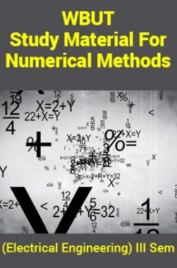 WBUT Study Material ForNumerical Methods (Electrical Engineering) III Sem