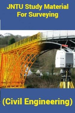 JNTU Study Material ForSurveying (Civil Engineering)
