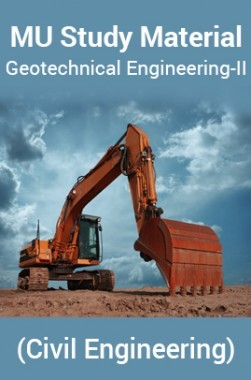 MUStudyMaterialFor Geotechnical Engineering-II(CivilEngineering)