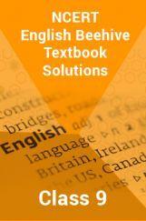 Beehive English Book Class 9