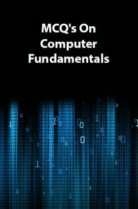 MCQs On Computer Fundamentals