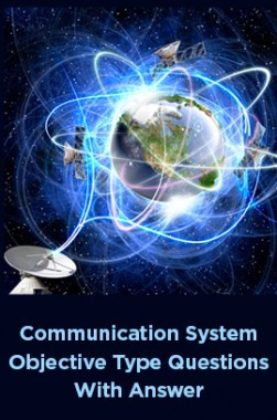 Communication System Objective Type Questions With Answer