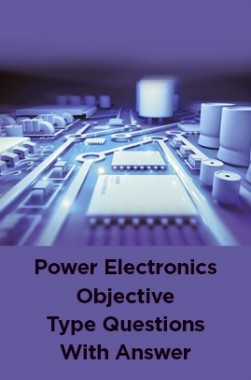 Power Electronics Objective Type Questions With Answer