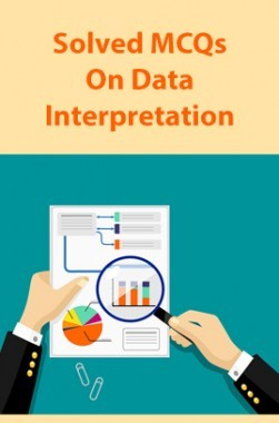 Solved MCQs On Data Interpretation
