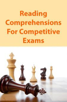 Reading Comprehensions For Competitive Exams