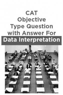 CAT Objective Type Question with Answer For Data Interpretation