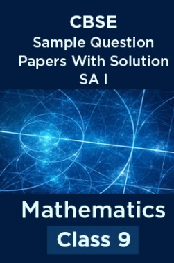 CBSE Sample Question Papers With Solution SA I For Mathematics Class 9