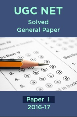UGC NET Solved General Paper I For 2016-17