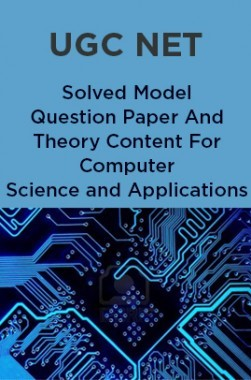 UGC NET Solved Model Question Paper And Theory Content For Computer Science and Applications