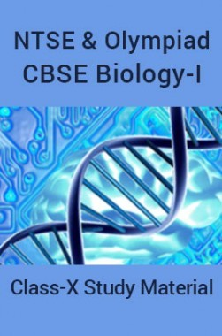 NTSE & Olympiad CBSE Biology-I For Class-X Study Material