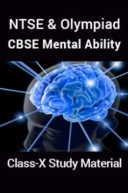 NTSE & Olympiad CBSE Mental Ability For Class-X Study Material