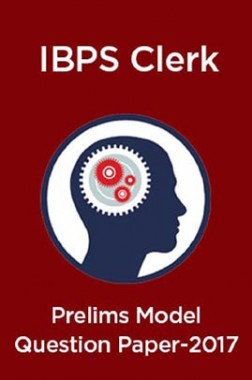 IBPS Clerk Prelims Model Question Paper 2017