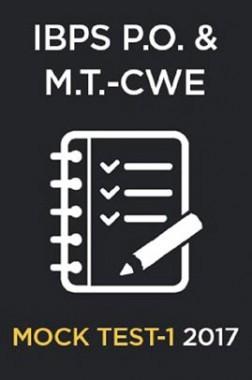 IBPS P.O.& M.T.CWE 2017 MOCK TEST-1